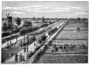 Kanal in Holland