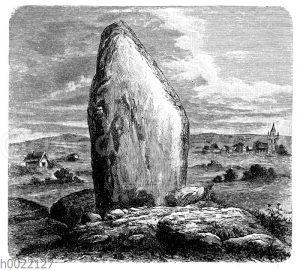 Menhir von Croisie