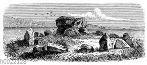 Steinkreis aus der jüngeren Steinzeit Englands