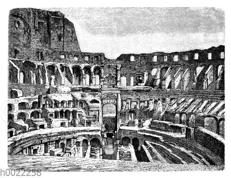 Colosseum in Rom: Innenansicht