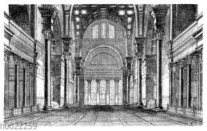 Halle aus den Bädern des Caracalla