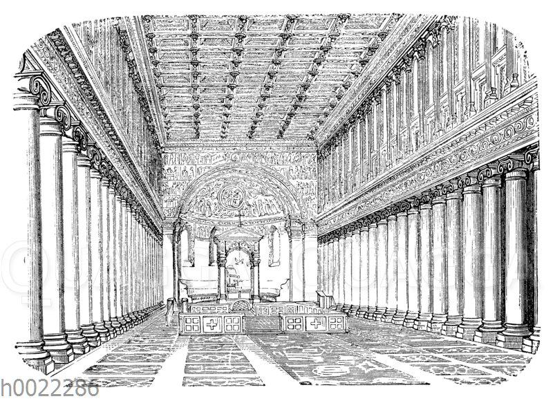 Rom: Basilika S. Maria Maggiore