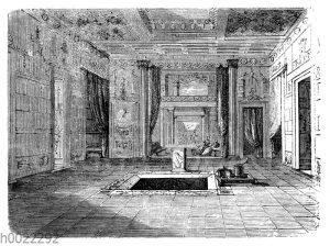 Atrium und Tablinum aus dem Haus des Sallust