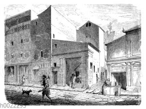 Straße von Pompeji
