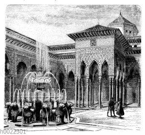 Alhambra: Löwenhof