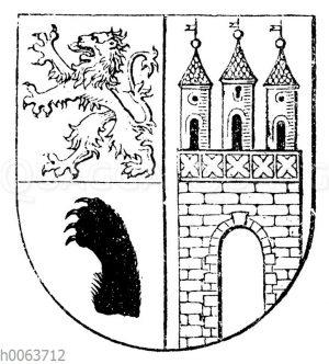 Wappen von Nienburg
