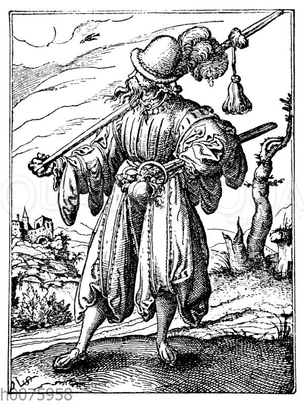 Pluderhosen und Hosenlatzmode der Landsknechte