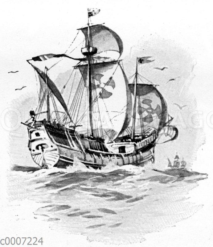 Karavelle des Columbus