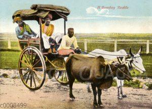Kutsche in Bombay