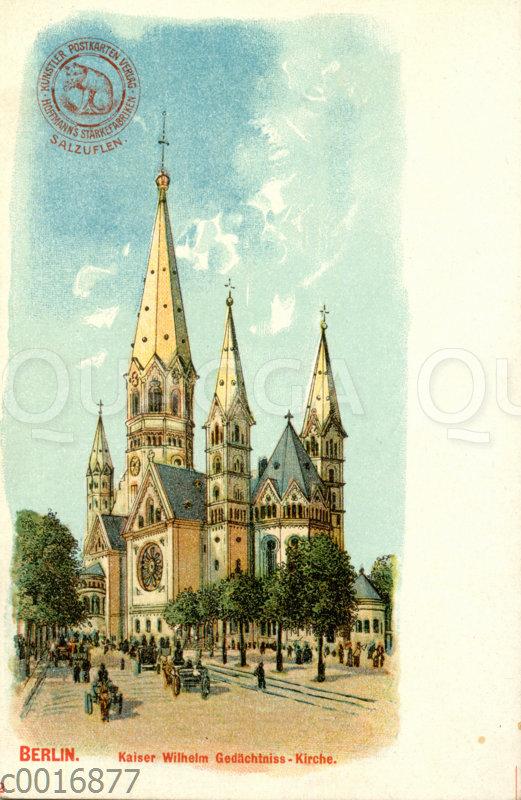 Berlin: Kaiser-Wilhelm-Gedächtniskirche