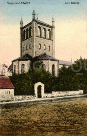Kirche in Stolpe am Stölpchensee in Wannsee