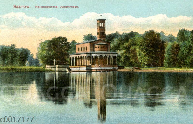 Sacrow: Heilandskirche Jungfernsee