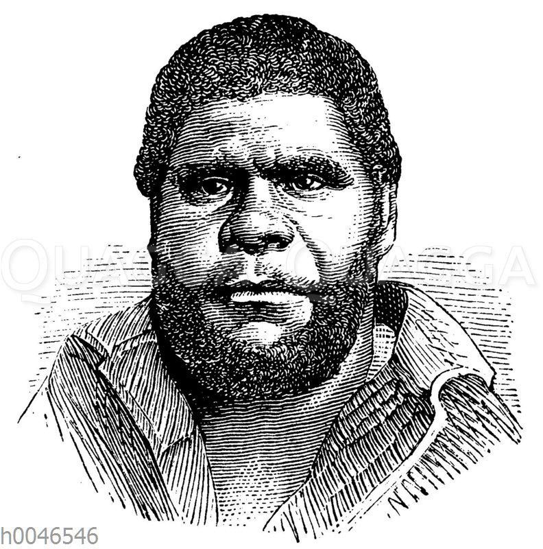 Porträt eines Tasmaniers