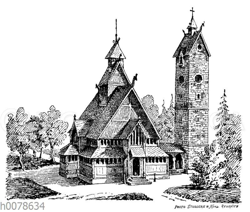 Stabkirche Wang im Riesengebrge
