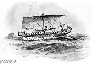 Ägyptisches Seeschiff
