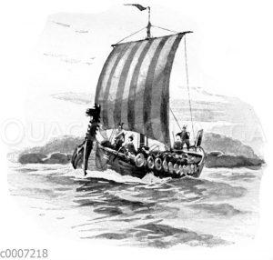 Nordisches Drachenboot