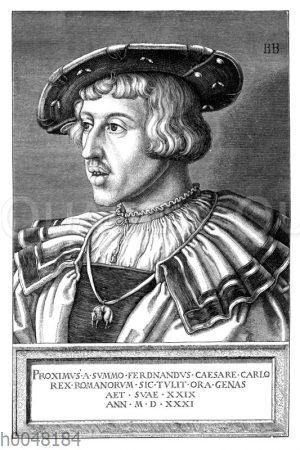 Ferdinand I. als römischer König im 29. Lebensjahr