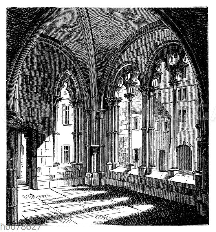 Vorhalle im Kloster zu Maulbronn