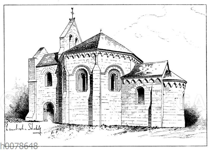 Templerkapelle im französischen Laon