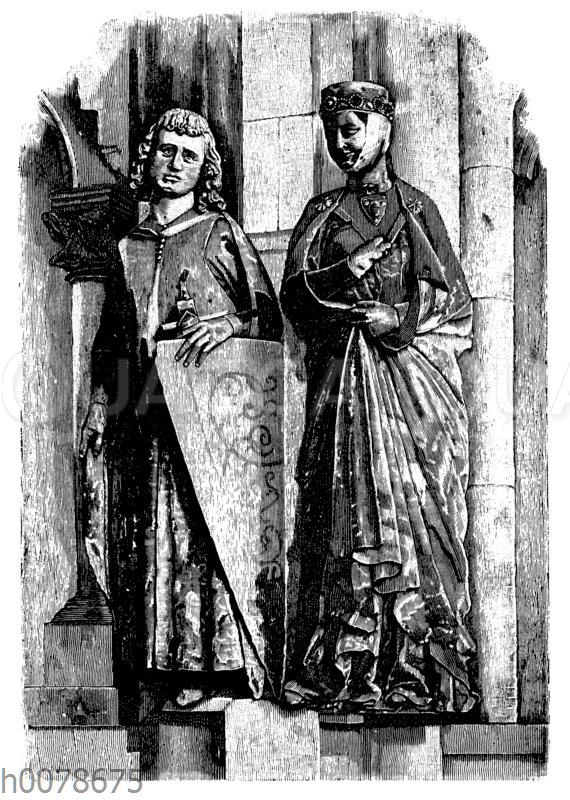 Fürstenpaar aus dem Naumburger Dom
