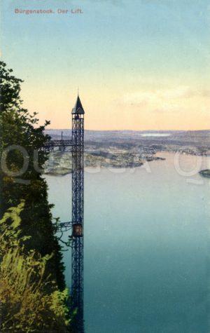 Bürgenstock: Der Lift