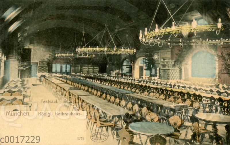 Festsaal im Königlichen Hofbräuhaus