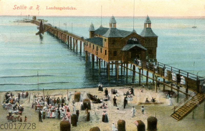 Sellin auf Rügen: Landungsbrücke