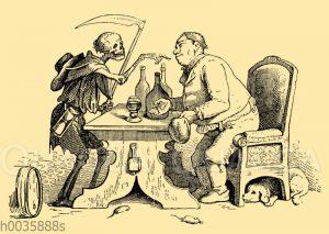 Der Trinker und der Tod