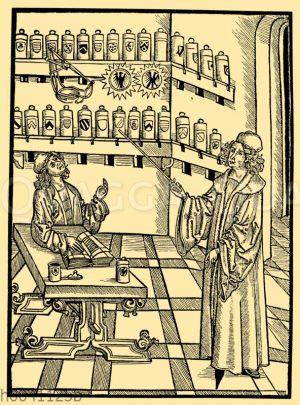 Apotheke im 15. Jahrhundert