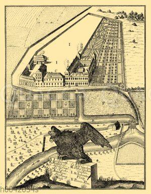 Charité in Berlin zum Zeitpunkt ihrer Gründung