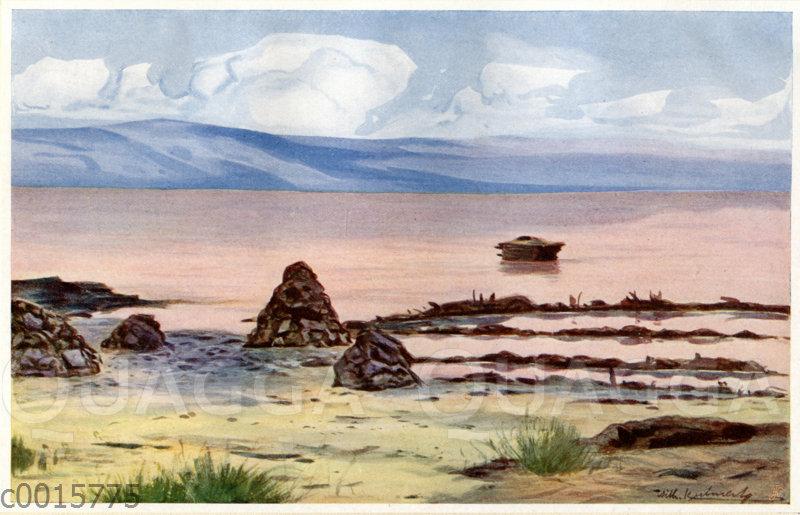 Der Salzsee von Katwe