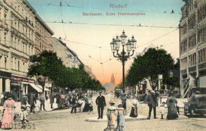 Berlin-Rixdorf: Berliner Straße Ecke Hermannplatz