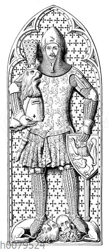 Grabmal Günthers von Schwarzburg im Dom zu Frankfurt a.M.