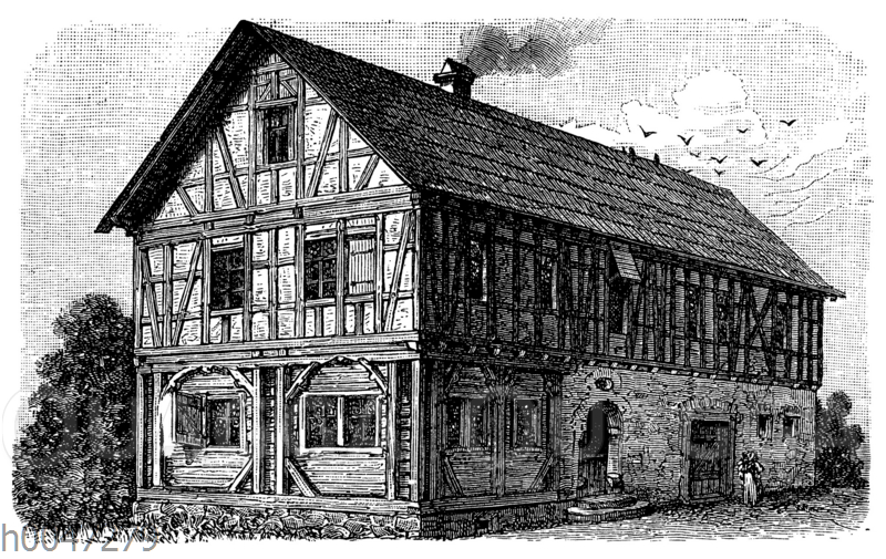 Fränkisch-thüringisches Bauernhaus