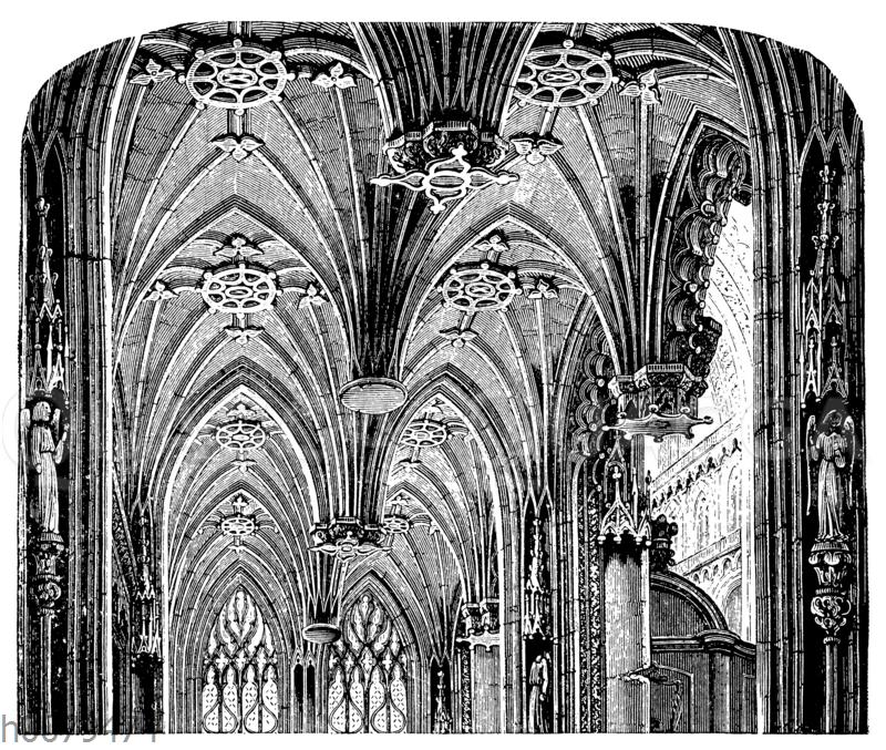 Gewölbe der Kathedrale zu Albi