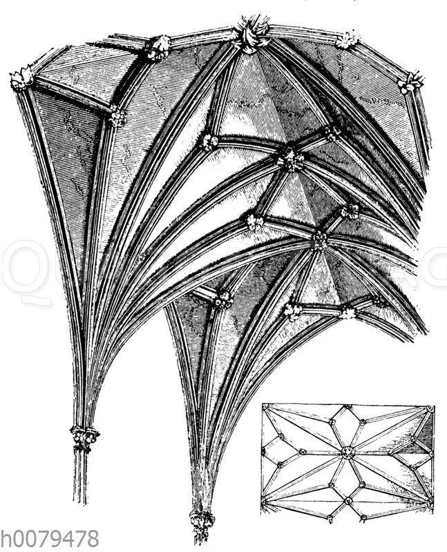 Sterngewölbe (Nach Parkers Glossary)