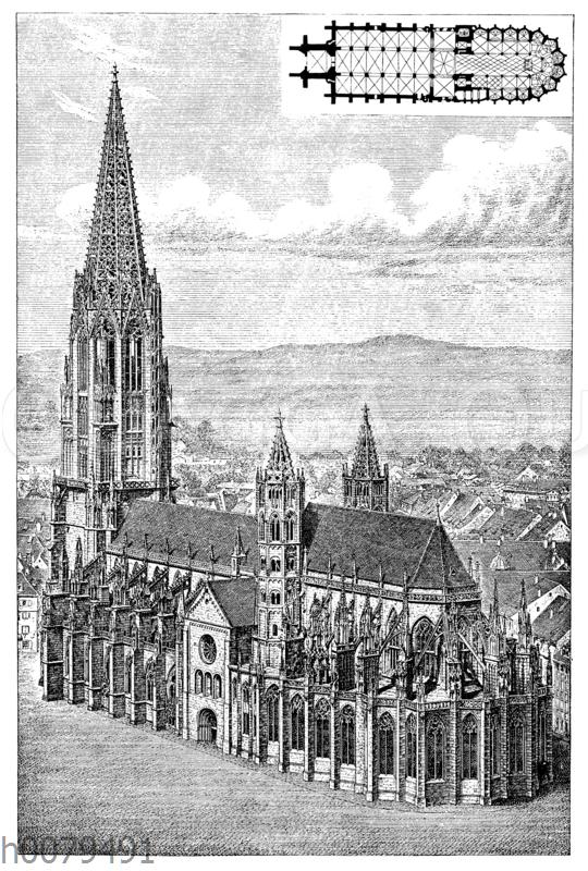 Münster in Freiburg (Nach Dohme