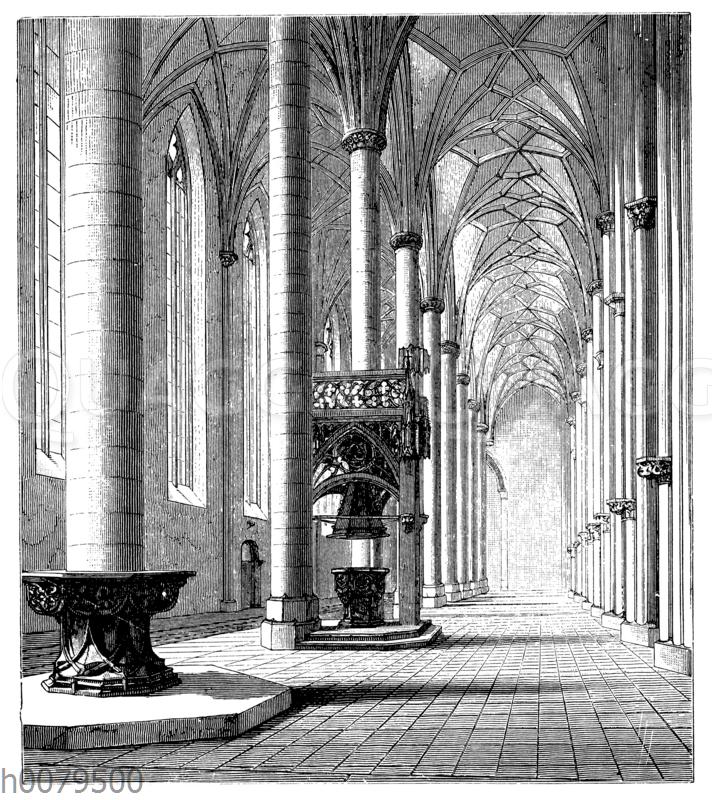 Münster in Ulm. Südliche Seitenschiffe