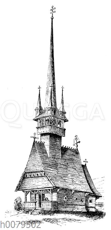 Holzkirche zu Börosmart