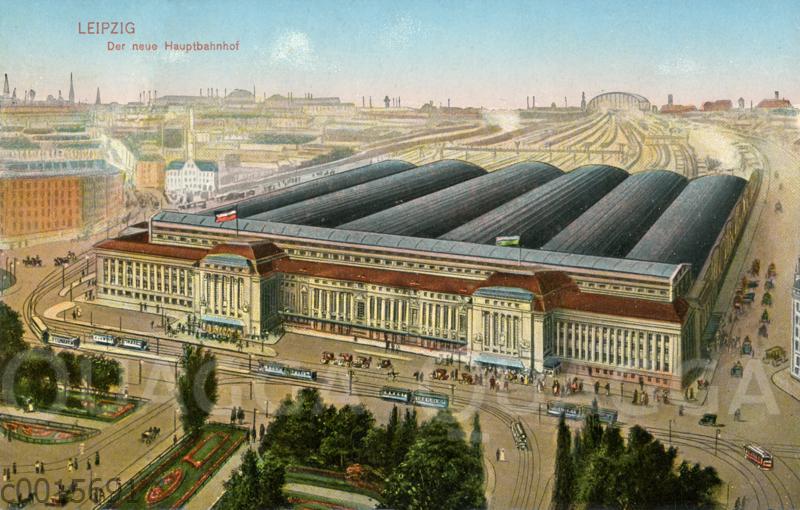 Leipzig: Der neue Hauptbahnhof