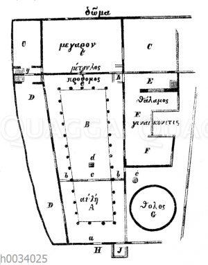 Haus des Odysseus auf Ithaka