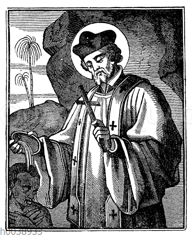 Heiliger Franz Xaver (geb. 7. April 1506