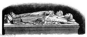 Grabmal Heinrichs des Löwen und seiner Gemahlin Mathilde im Dom zu Braunschweig