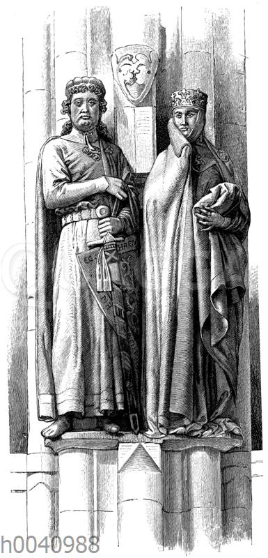 Ekkehard II. von Meißen und Uta von Ballenstedt