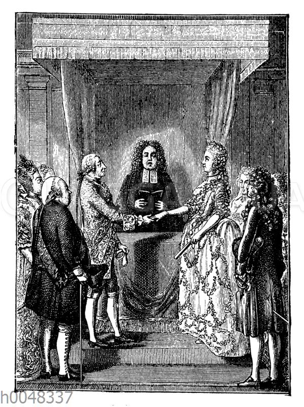 Vermählung Friedrichs des Großen