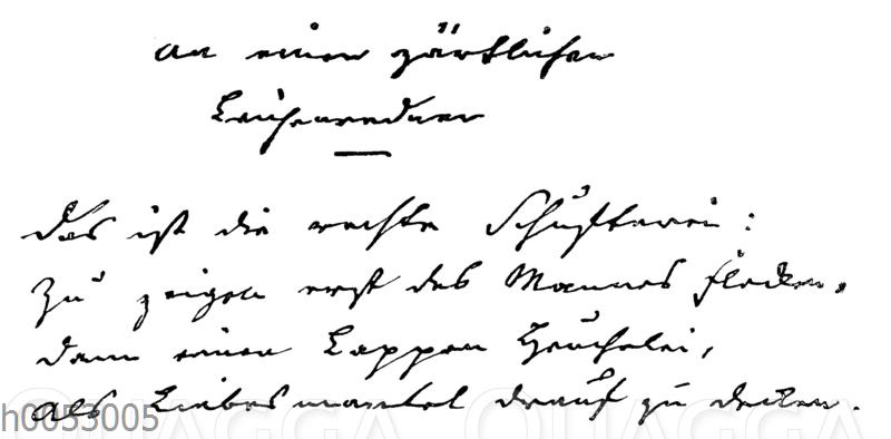 Gedicht von Christoph August Tiedge