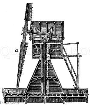Windrad: Turmwindmühle