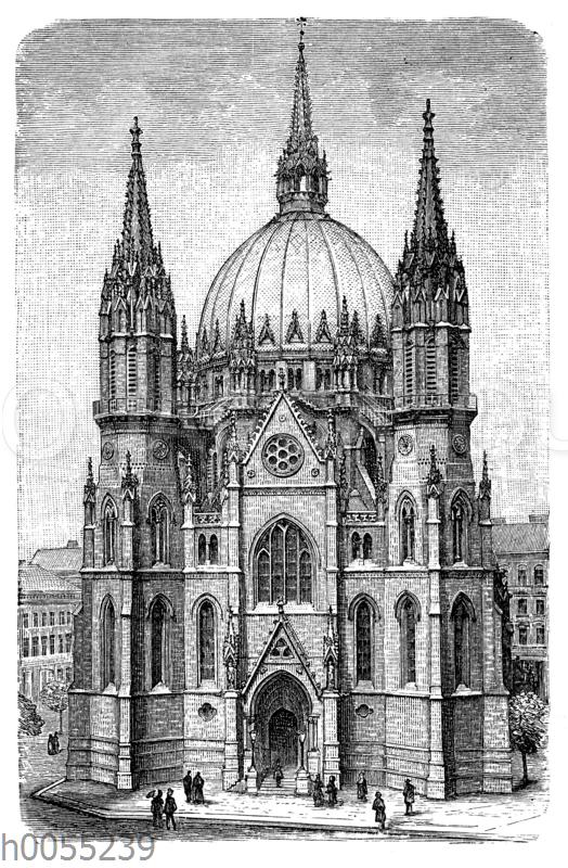 Wien: Kirche in Fünfhaus