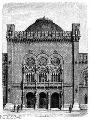 Wien: Heeresmuseum im Arsenal. 1849-1855 von Th. von Hansen erbaut