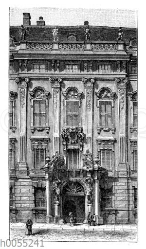 Wien: Palais des Fürsten Kinsky (Mittelbau)